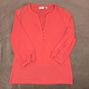 NY & Co 3/4 sleeve blouse, size M
